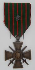 MED 244 - MEDAILLE CROIX DE GUERRE 1914 - 1916