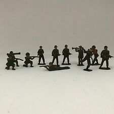 Antique Toy Soldiers, Made In England, Set Of 11