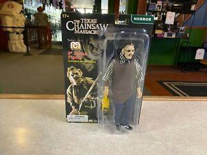 "2020 Mego Legend Horror Texas Chainsaw Massacre Leatherface 8"" Action Figure MOC"