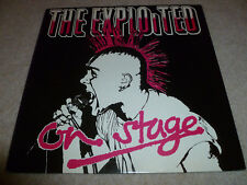 THE EXPLOITED-Live On Stage VINYL LP