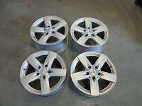 alloy wheels w/o tyres Mercedes SLK R171 16 ZOLL 7J 8J 200 Kompressor 120kW 2719