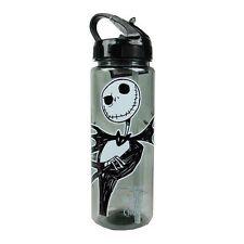 Nightmare Before Christmas JACK Water Bottle, 20 oz. BPA-Free w/ Flip-Straw