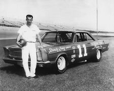 1965 Nascar Driver NED JARRETT Glossy 8x10 Photo Stock Car Poster Print