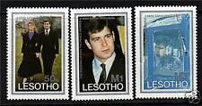 Lesotho 1986 Royal Wedding SG736/8 MNH