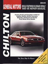1990-1998 Chilton GM Deville, Fleetwood, Eldorado & Seville Repair Manual