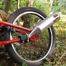 Kids Bicycle Bike Exhaust System Pipe Motorcycle Engine Sound Toy Sports Cycling