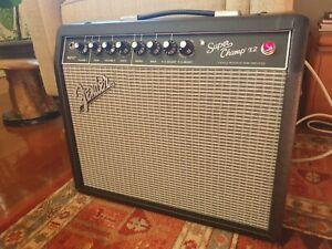 Fender Super Champ X2 15-Watt 1x10-Inch Guitar Combo Amp w/ Celestion Greenback