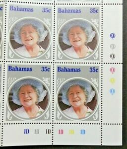 BAHAMAS 1985 SG714 35c. LIFE AND TIMES OF ELIZABETH THE QUEEN MOTHER  -  MNH