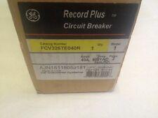 GE FCV326TE040R 40A RECORD PLUS BREAKER