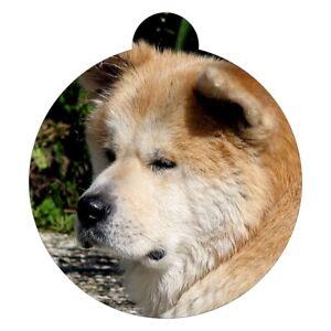 Akita Breed Picture Pet ID tag