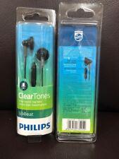 Philips SHE3015BK In-Ear Headphone with Microphone - Black