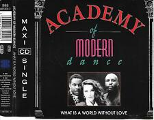 ACADEMY OF MODERN DANCE -  What Is A World Without Love CDM 3TR Bolland Europop