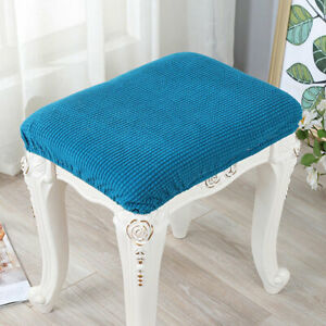Stretch Jacquard Stool Chair Cover Seat Protector Cushion Cover Dining Slipcover