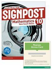 Australian Signpost Mathematics New South Wales 10 (5.1-5.3) by Alan McSeveny...