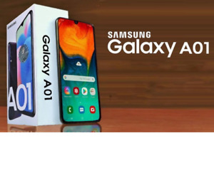 SAMSUNG GALAXY  A01 (A015FD) Dual Sim Unlocked 16GB Smartphone 4G LTE BRAND NEW