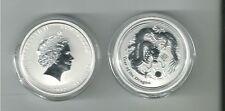 1/2 oz Lunar II Drache / Dragon -  Silber - 50 Cent Australien 2012  Eiamaya