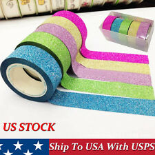 5x Washi Sticky Paper Masking Adhesive Decorative Tape Scrapbooking Hot Selling