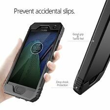 For Motorola Moto G5 Plus POETIC Case Revolution Series Shockproof Cover Black