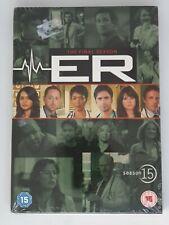 E.R. - Series 15 - Complete (DVD, 2009, Box Set), Final Season