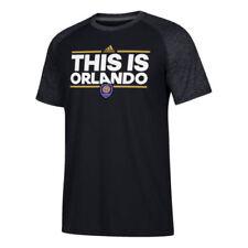 Camiseta de fútbol de clubes americanos y liga MLS negros talla L