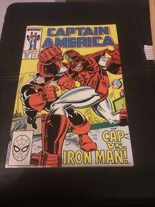 Captain America 341 First Appearance Lemar Hoskins As Battlestar NM+ 9.6