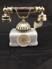 Vintage Avon French Telephone Decanter, Boxed, Moonwind Perfume and Bath Oil