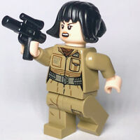 New Star Wars LEGO® Rose Tico Resistance Engineer Last Jedi Minifigure 75176