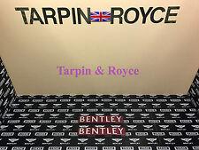 Bentley  Badge Red  GT GTC Flying Spur set of 2 item #BPL4