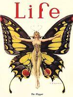 ART PRINT POSTER MAGAZINE COVER 1922 LIFE BUTTERFLY DANCER NOFL0622