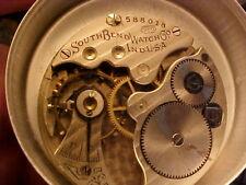 16s South Bend grade 260 pocket watch movement