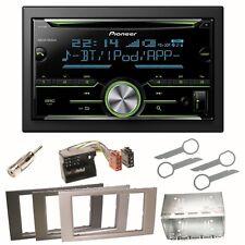 Pioneer FH-X730BT Bluetooth USB Autoradio Einbauset für Ford Fusion Galaxy S-Max