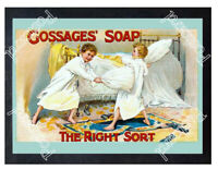 Historic Gossages soap 1890s Advertising Postcard