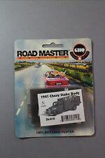 N Scale 1941 Chevy stake body truck KIT by G.H.Q. NIB