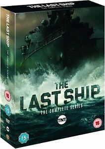 The Last Ship Complete Season Series 1, 2, 3, 4 & 5 DVD box set R4 New Sealed.