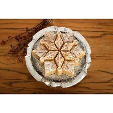 NEW NORDIC WARE PULL APART FROZEN SNOWFLAKE BUNDT CAKE PAN JELLO MOLD CHRISTMAS