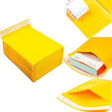 250 #0 6 x 10 Poly Paper Padded Bubble Envelopes Self Seal Mailers Shipping Bags