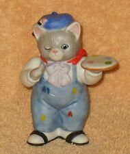 """KITTY CUCUMBER    """" READY TO PAINT. """"ALBERT PAINTING MNB"""