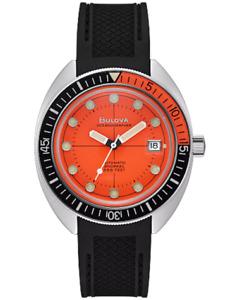NEW BULOVA Special Edition Oceanographer Devil Diver Snorkel Automatic 96B350