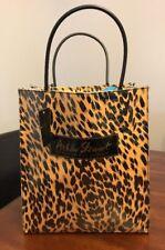Ashley Stewart Animal Print Lg Acrylic Shopping Tote Bag NWT