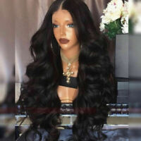 Curly Brazilian Virgin Remy Human Hair Front Wig Full Wigs with Baby Hair