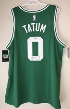 Jayson Tatum Autographed Boston Celtics Signed Nike NBA Swingman Jersey FANATICS