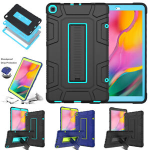 For Samsung Galaxy Tab A 10.1 2019 Case Hybrid Heavy Duty Shockproof Stand Cover