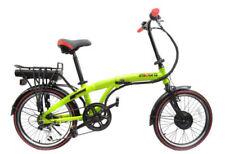 Biciclette pieghevoli verde in alluminio