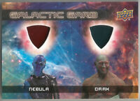 Marvel Guardians of the Galaxy Vol 2 ~ GALACTIC GARB Dual Relic DM-2 Drax/Nebula