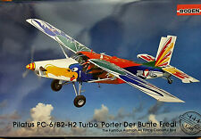 Pilatus PC-6/B2-H2 Turbo Porter Der Bunte Fredi Austria - Roden Kit 1:48 Ro 444