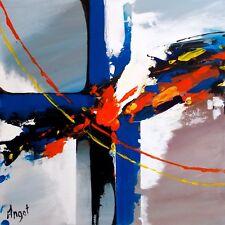 Acrylique sur Toile, Abstraction, Signé, Contemporain, Peinture abstrait