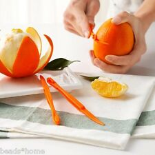 Home Kitchen Tools Fruit Orange Peeler Slicer Cutter PP Device High Quality