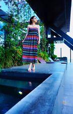 Woman Summer Beach Boob Tube Skirt Maxi Dress Off Shoulder Dress Long Top Dress