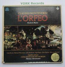 SKH 21/1-3 - MONTEVERDI - L'Orfeo HARNONCOURT / KOZMA - Ex 3 LP Record Box Set