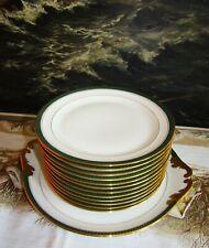 SERVICE A DESSERT Porcelaine CHASTAGNER & Cie Limoges France